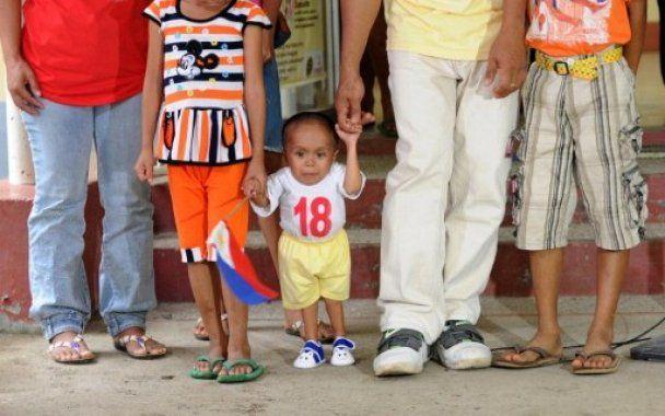 Філіппінець зі зростом 55 см став найменшою людиною на Землі