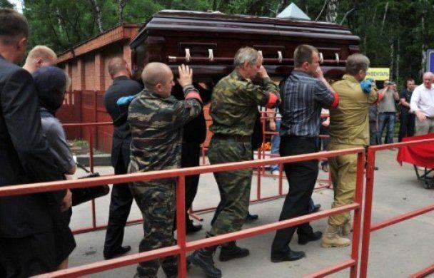 Полковника Буданова, який убив чеченку, поховали з військовими почестями