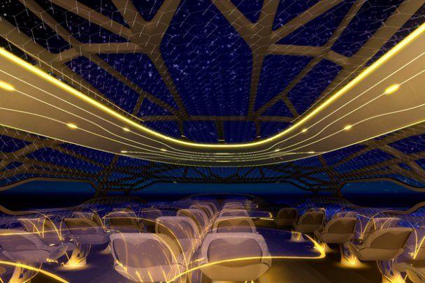"""Airbus показав """"літак майбутнього"""" - з повністю прозорим корпусом"""