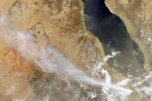 Из-за вулканического пепла в Египте закрыли аэропорты