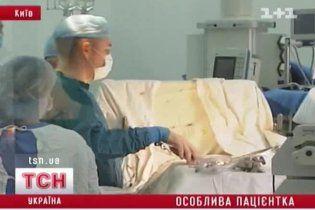 Врачи рассказали об успехе уникальной для Украины операции