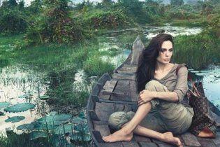 Анджеліна Джолі знялася у рекламі Louis Vuitton у Камбоджі
