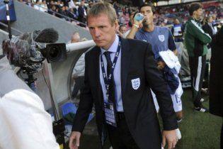 Тренер сборной Англии считает, что на украинскую сборную давят