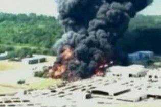 У Луїзіані вибухнув хімічний завод
