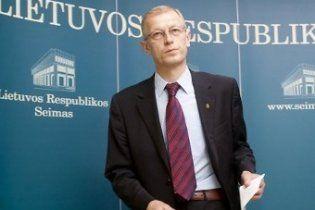 Вице-спикер литовского Сейма подал в отставку за превышение скорости