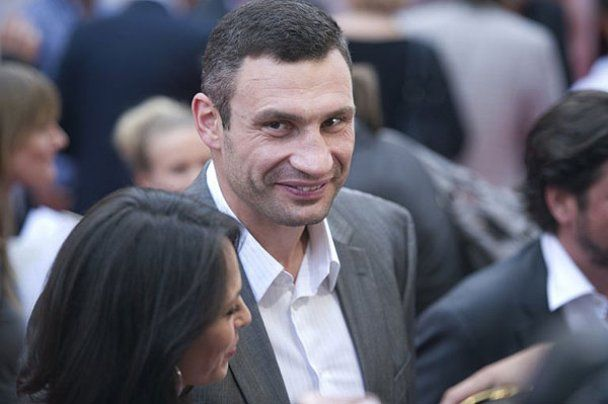 """Виталий Кличко в Германии презентовал фильм """"Кличко"""""""