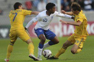 Украинские футболисты пожаловались на невезение в игре с англичанами