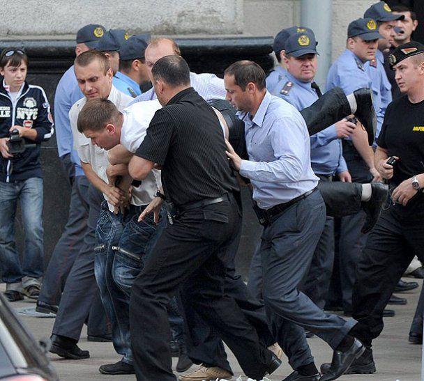 Акции протеста в Беларуси разогнала милиция