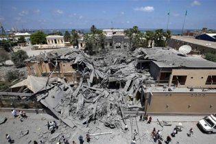 НАТО разбомбило парламент Ливии