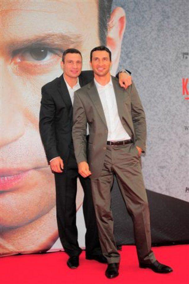 В Германии вышла автобиографическая кинолента о братьях Кличко (видео)
