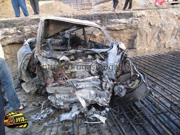 Ужасная авария в Киеве: три человека сгорели в Porsche Carrera