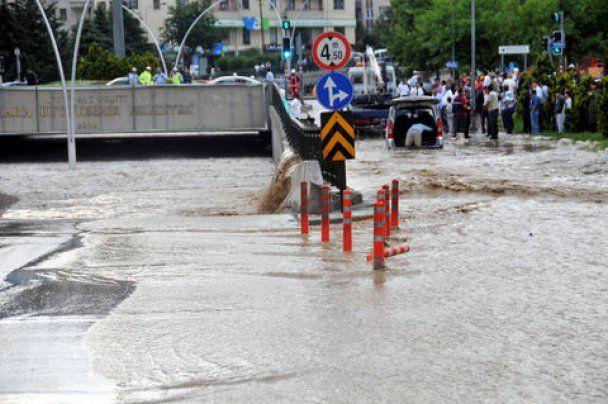 Ливни затопили столицу Турции