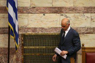 Прем'єр Греції оголосив про свою відставку
