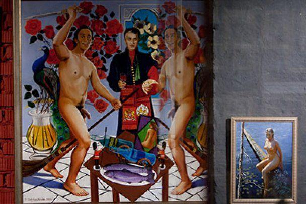 "У московському музеї еротики показали голу Тимошенко та ""качка"" Путіна"