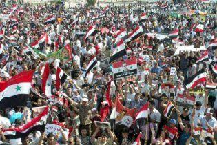 У Сирії опозиціонери спалили російські прапори