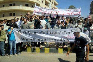Сирийская оппозиция вслед за ливийской объединилась в Национальный совет