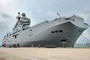 За французькі вертольотоносці Росія заплатила 1,2 мільярди євро