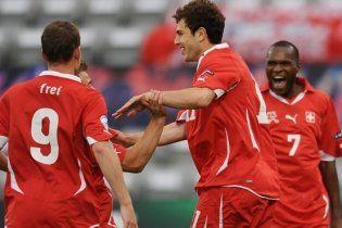 Швейцарія і Білорусь вийшли у півфінал чемпіонату Європи (відео)