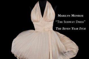 Платье Мэрилин Монро продали за 4,6 миллиона долларов