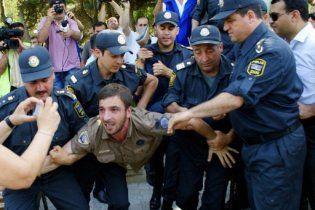 У Баку розігнали опозиційний мітинг, затримані десятки людей