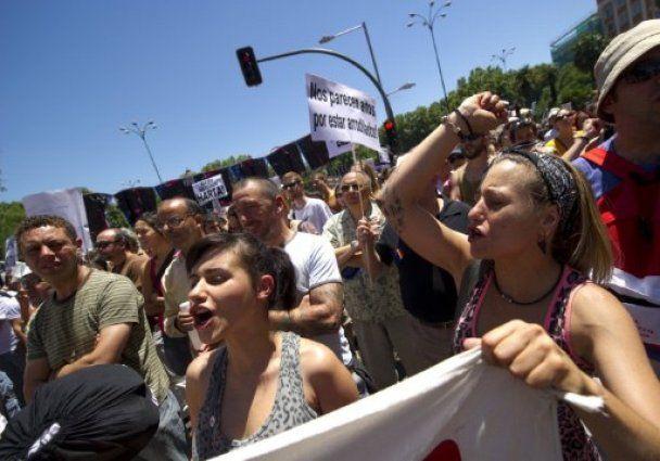 В Іспанії понад 100 тисяч осіб взяли участь в акціях протесту