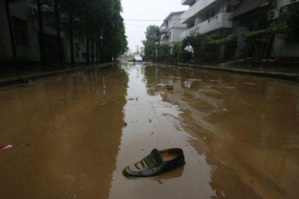 Від повені  в Китаї постраждали 2 мільйони людей