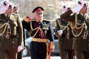 В Киев прилетит король Иордании