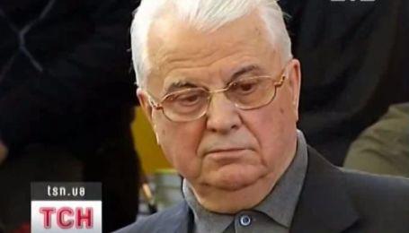 Леонид Кравчук перенес операцию на глазу