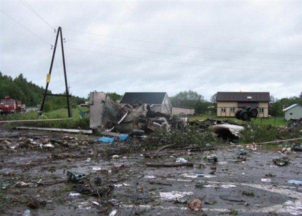 В катастрофе российского Ту-134 виноват пьяный штурман