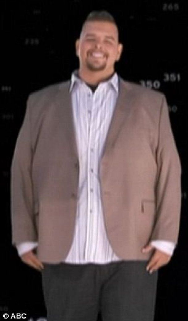 300-кілограмовий американець всього за рік скинув половину ваги