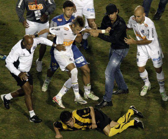 Бійка на Кубку Лібертадорес-1