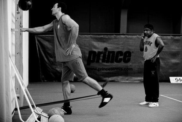 Кличко завершує підготовку до бою з Хеєм