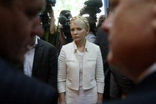 Под Печерским райсудом собрались сторонники Тимошенко