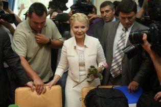 Суд над Тимошенко розпочався із сутичок
