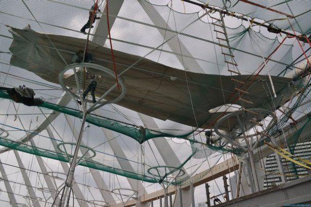 В Києві будують дах над головною ареною Євро-2012