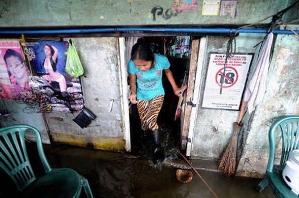 От шторма на Филиппинах пострадали десятки тысяч людей