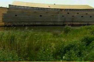 Энтузиаст из Нидерландов строит точную копию ковчега Ноя (видео)