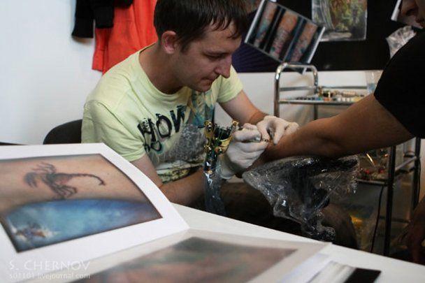 Фестиваль татуювань у Санкт-Петербурзі