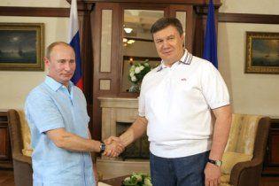 Янукович провів з Путіним неформальну зустріч
