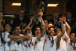 Сборная Испании выиграла чемпионат Европы (видео)