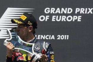 Формула-1. Феттель одержал шестую победу в сезоне