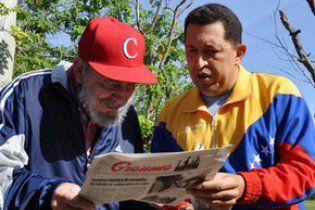 Уго Чавес вперше після операції з'явився на телебаченні