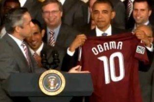 Обама прирівняв себе до Ліонеля Мессі (відео)