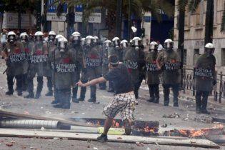 В Греции в столкновениях между властью и митингующими погиб человек