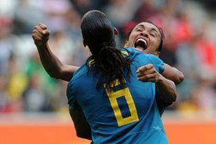 Бразильские футболистки начали чемпионат мира с победы (видео)