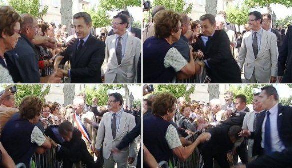 Напад на Ніколя Саркозі