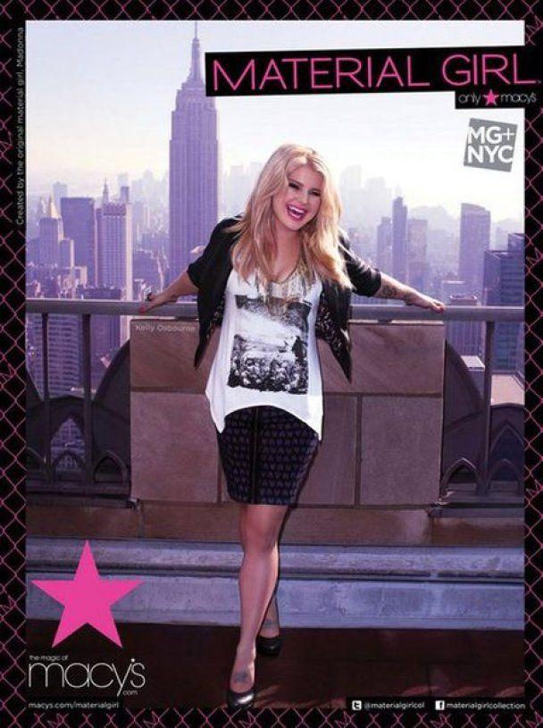 Келлі Осборн прорекламувала одяг від Мадонни