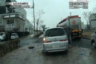 Под завалами в Японии найдено уникальное видео из эпицентра цунами
