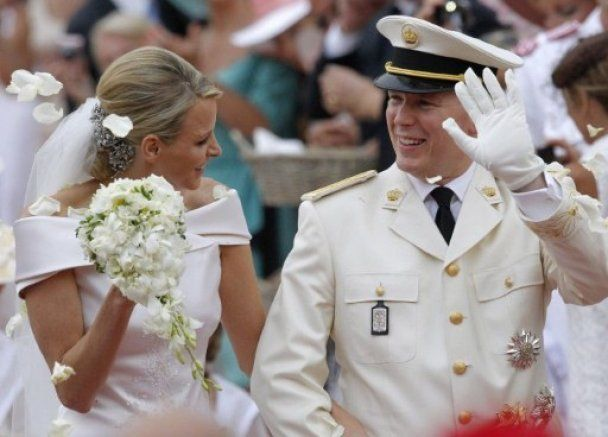 Свадьба века в Монако: князь Альбер II и княгиня Шарлин