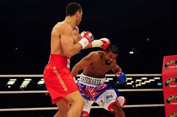Девід Хей не битиметься з Віталієм Кличком і йде з боксу